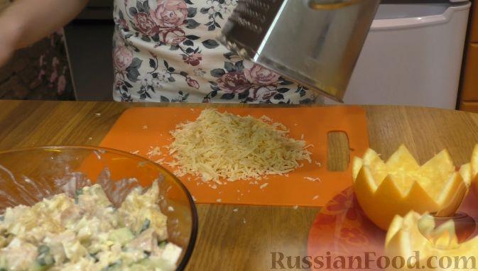 Фото приготовления рецепта: Салат из курицы с апельсинами - шаг №2