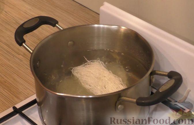 Фунчоза с говядиной и овощами - пошаговый рецепт с фото на ...