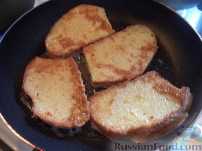 рецепты бутербродов горячих по французски