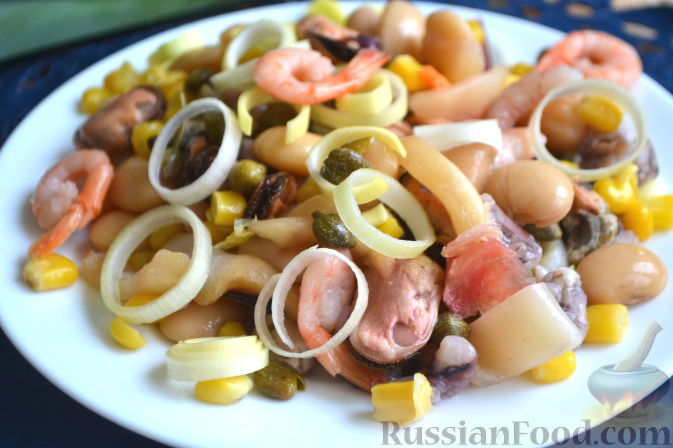 Салат с кукурузой самый вкусный рецепт