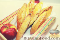 Фото к рецепту: Пирожки с яблоками (в духовке)