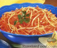 Фото к рецепту: Морковь и пастернак, жаренные в раскаленном масле