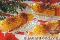 Фото к рецепту: Кукуруза с беконом, жаренная на гриле