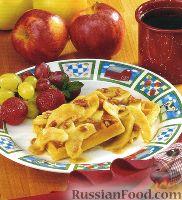 Фото к рецепту: Яблоки, жаренные с кленовым сиропом