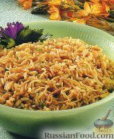 Фото к рецепту: Гарнир из риса и яичной вермишели