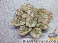 Фото к рецепту: Мраморный рулет (мясная нарезка) из курицы