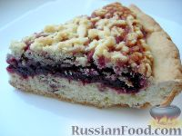 Фото к рецепту: Тёртый пирог