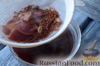 Фото приготовления рецепта: Глинтвейн безалкогольный - шаг №8