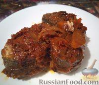 Фото к рецепту: Скумбрия в томатном соусе