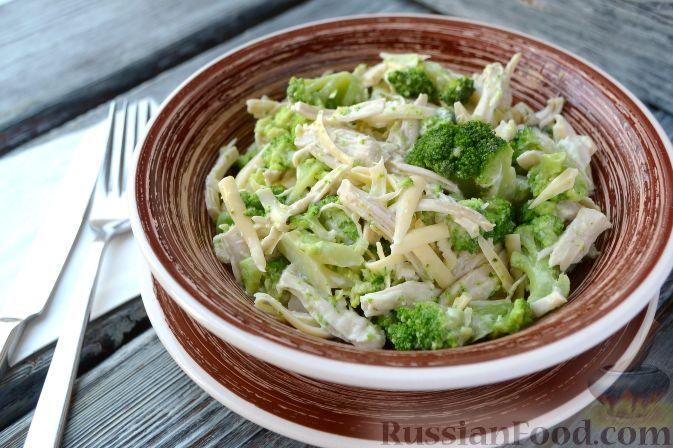 салат нежность рецепт с фото с брокколи
