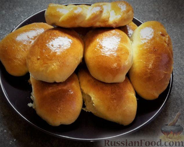 быстрый ивкусный рецепт дрождевых пирожков с капустой