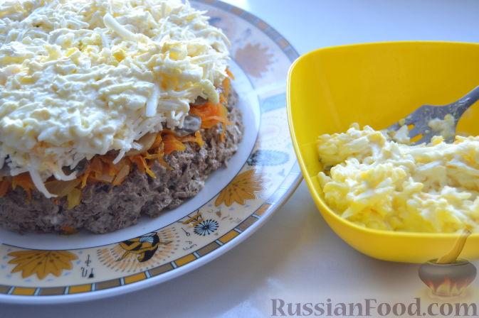 Фото приготовления рецепта: Рыба, запечённая в молоке, с сыром - шаг №6