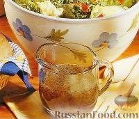 Фото к рецепту: Салатная заправка с медом и маком