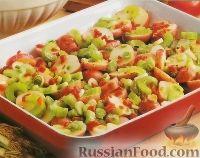 Фото к рецепту: Салат картофельный с перцем