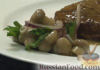 Фото к рецепту: Быстрые маринованные шампиньоны (горячим способом)