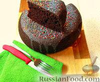 Фото к рецепту: Шоколадный кекс (в мультиварке)