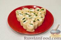 Фото приготовления рецепта: Блины: как готовить, варианты сворачивания и начинки - шаг №14