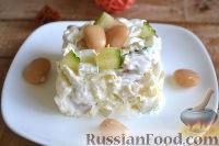 Фото к рецепту: Салат из пекинской капусты, с фасолью и яйцами