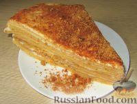 """Фото к рецепту: Торт """"Медовик"""" со сметанным кремом"""