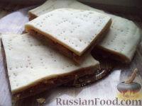 Фото к рецепту: Слоеный пирог с капустой