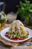 Фото к рецепту: Салат с авокадо и грушей