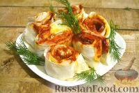 Фото к рецепту: Рулет из лаваша с беконом и сыром