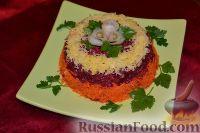 Фото к рецепту: Салат «Любовница» с сыром