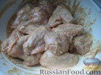 Фото приготовления рецепта: Крылышки к пиву - шаг №8