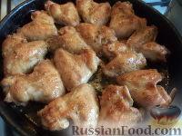 Фото приготовления рецепта: Крылышки к пиву - шаг №12