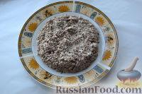 Фото приготовления рецепта: Салат «Улёт» с печенью индейки и грибами - шаг №5