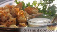 Фото к рецепту: Узбекские жареные пельмени (ковурма чучвара)