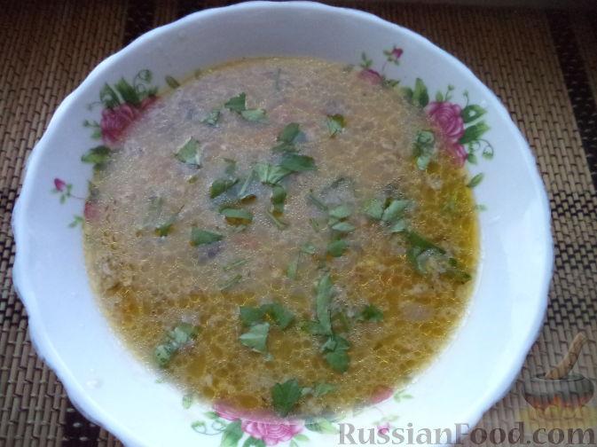 грибной суп с овсянкой рецепт с фото