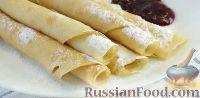 Фото к рецепту: Заварные блины на кефире