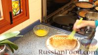 Фото приготовления рецепта: Блинчики с грибами - шаг №12