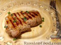 Фото к рецепту: Ромштекс (говяжий шницель)