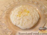 Фото к рецепту: Густая рисовая каша на молоке