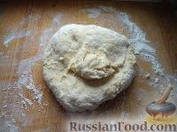Фото приготовления рецепта: Тесто для пельменей - шаг №7