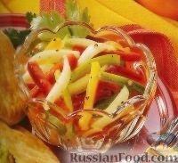 """Фото к рецепту: Салат """"Три перца"""""""