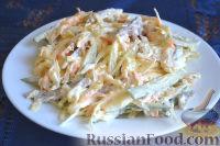 Фото к рецепту: Салат с говядиной и редькой