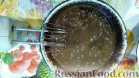 Фото приготовления рецепта: Шоколадный бисквит в мультиварке, со сметанным кремом - шаг №3