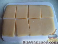 Фото приготовления рецепта: Сыр жареный - шаг №2