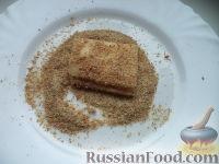 Фото приготовления рецепта: Сыр жареный - шаг №4
