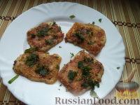 Фото приготовления рецепта: Сыр жареный - шаг №7