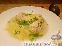 Фото к рецепту: Суп картофельный с фрикадельками