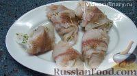 Фото приготовления рецепта: Котлеты по-киевски из рыбы - шаг №5