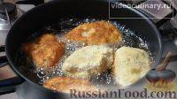 Фото приготовления рецепта: Котлеты по-киевски из рыбы - шаг №8