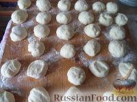Фото приготовления рецепта: Пирожки с начинкой из отварного мяса - шаг №15