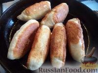 Фото приготовления рецепта: Пирожки с начинкой из отварного мяса - шаг №20