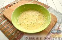 Фото приготовления рецепта: Салат с блинчиками из яиц - шаг №3