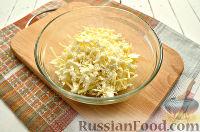 Фото приготовления рецепта: Салат с блинчиками из яиц - шаг №7